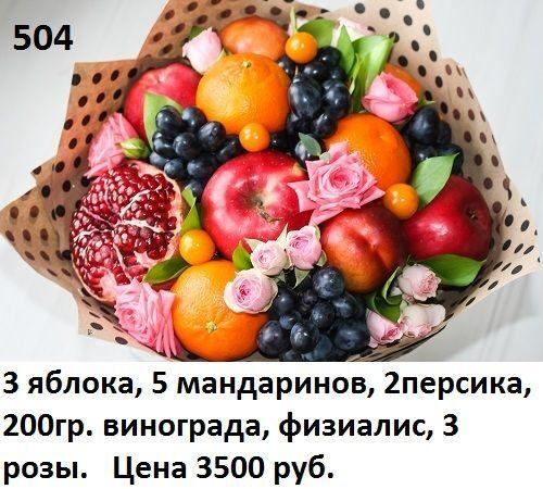 Поздравления к корзине фруктов 98